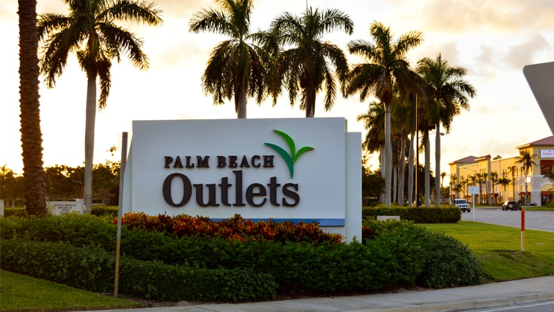Palm Beach Outlets: El lugar para comprar en West Palm Beach